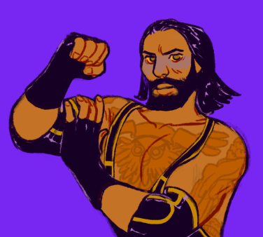 Wrestler Commission Purple