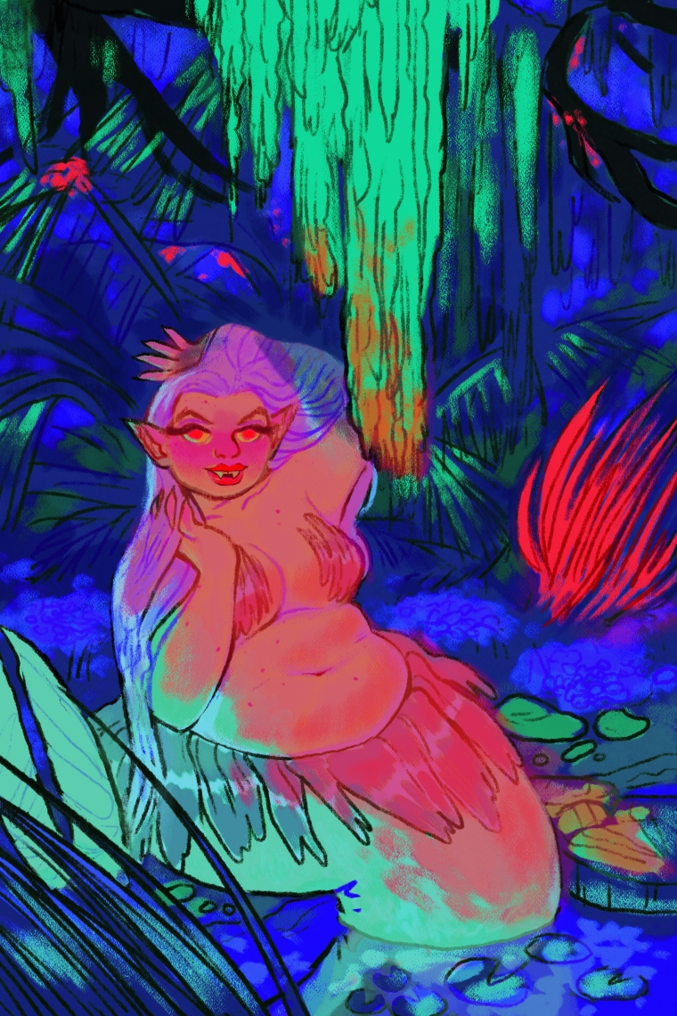 Fat Mermaid Zine