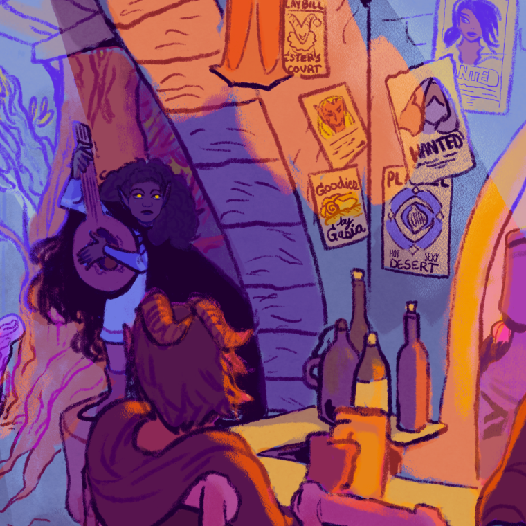 Tavern Commission Detail 1
