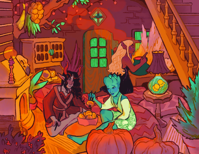 Witch's hut Commission Final