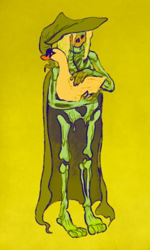 Inktober Bone Witch