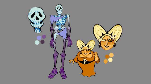 Skeleton and Necro Designs